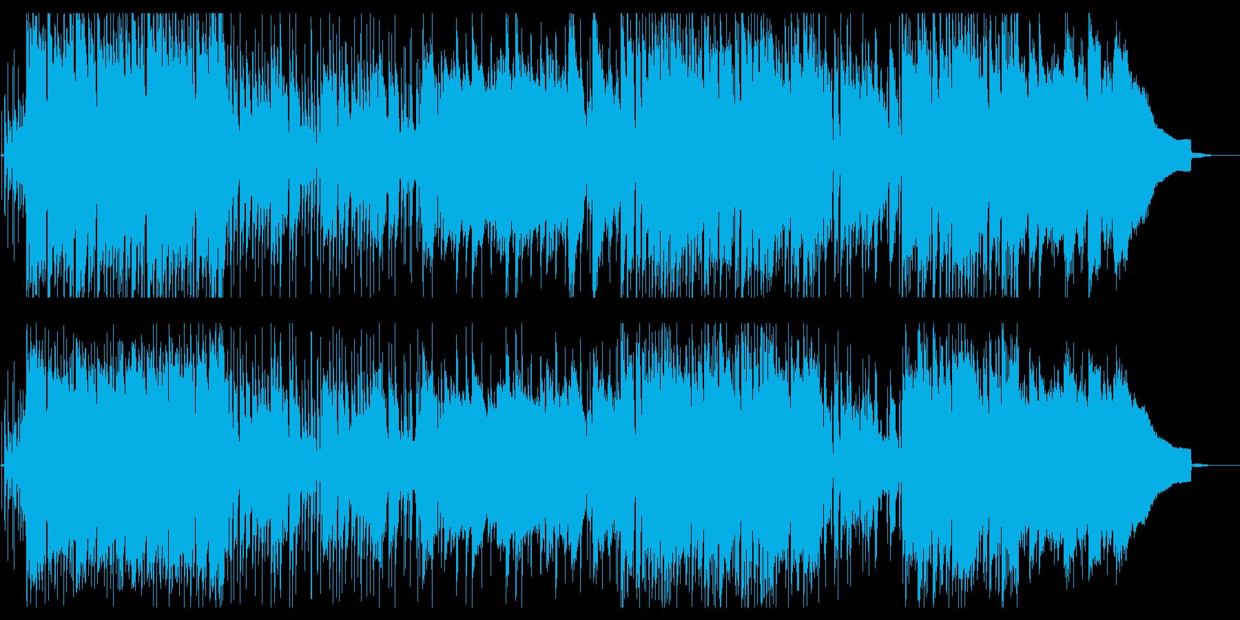 12弦アコギ入りポップでロックなサウンドの再生済みの波形