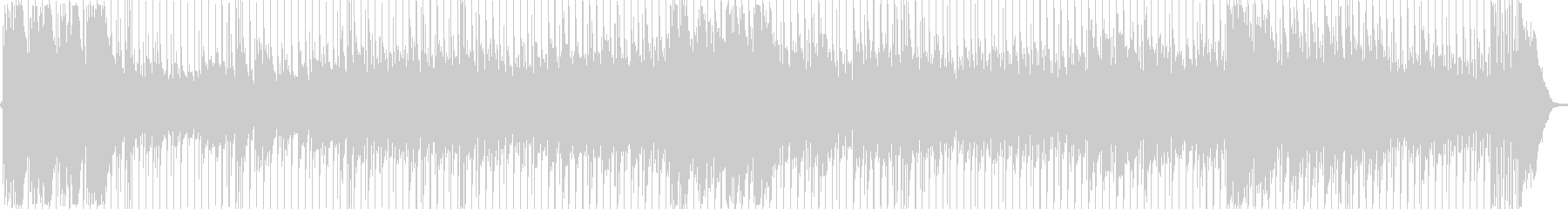 伝統的なメロディックなナポリ風の歌。の未再生の波形