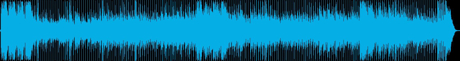 伝統的なメロディックなナポリ風の歌。の再生済みの波形