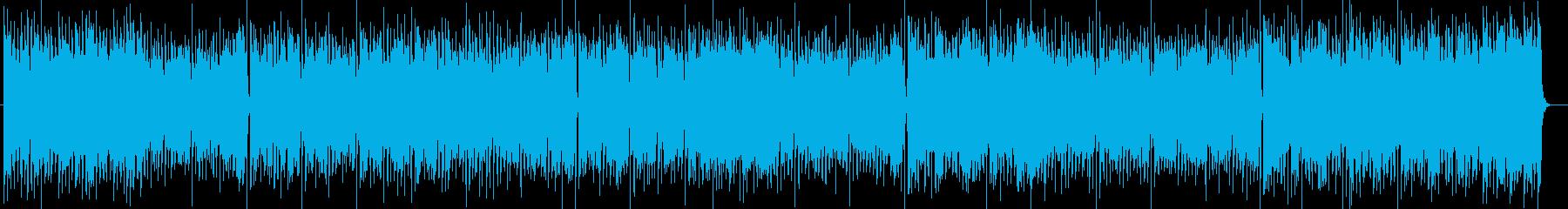 疾走感のあるシンセサイザーポップの再生済みの波形