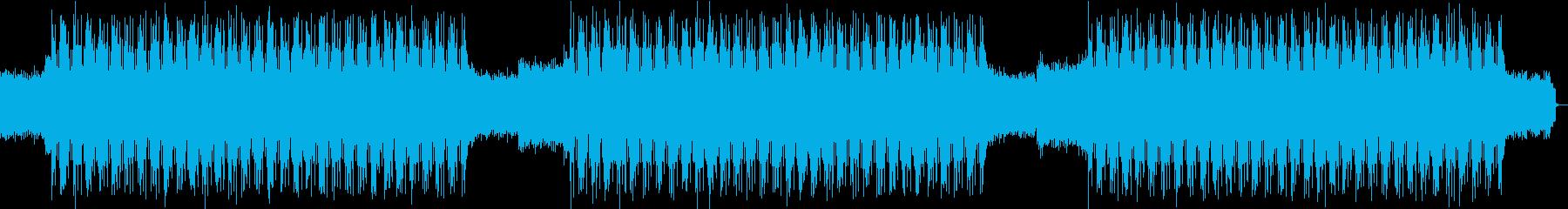 邪悪・ダーク・激しい・イベント・入場の再生済みの波形