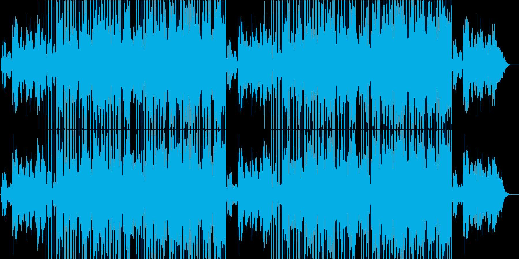 切なく哀愁漂うLO-FI HIPHOPの再生済みの波形