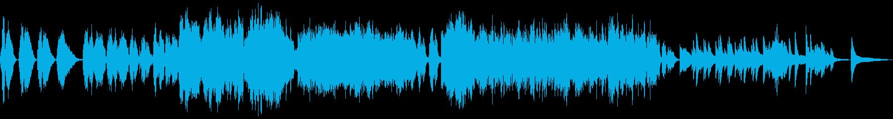 映画やゲームのエンディング曲に最適です。の再生済みの波形