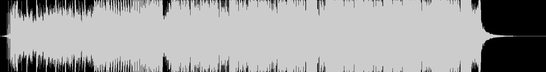 チップチューンっぽいドラムンベースの未再生の波形