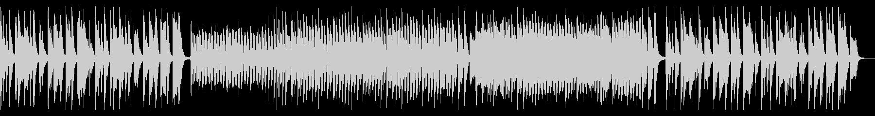コミカルなクッキングBGMの未再生の波形
