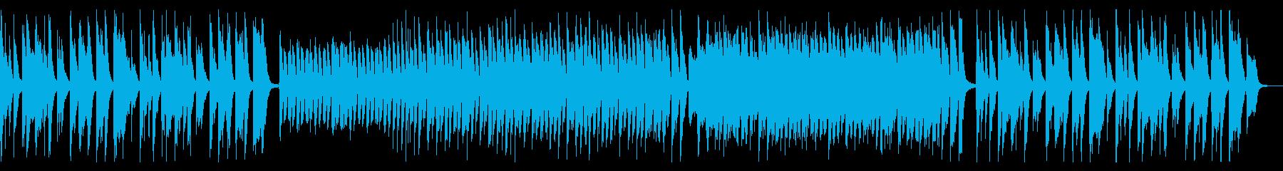コミカルなクッキングBGMの再生済みの波形