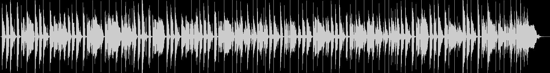 気持ちいいノリの低音16ビートの未再生の波形