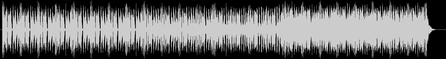 キレよく軽い音色のミュージックの未再生の波形