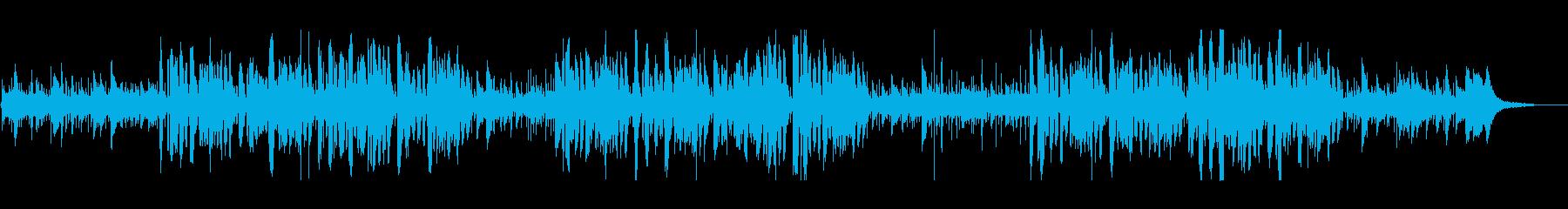 プロジャズシンガーのおしゃれクリスマス曲の再生済みの波形
