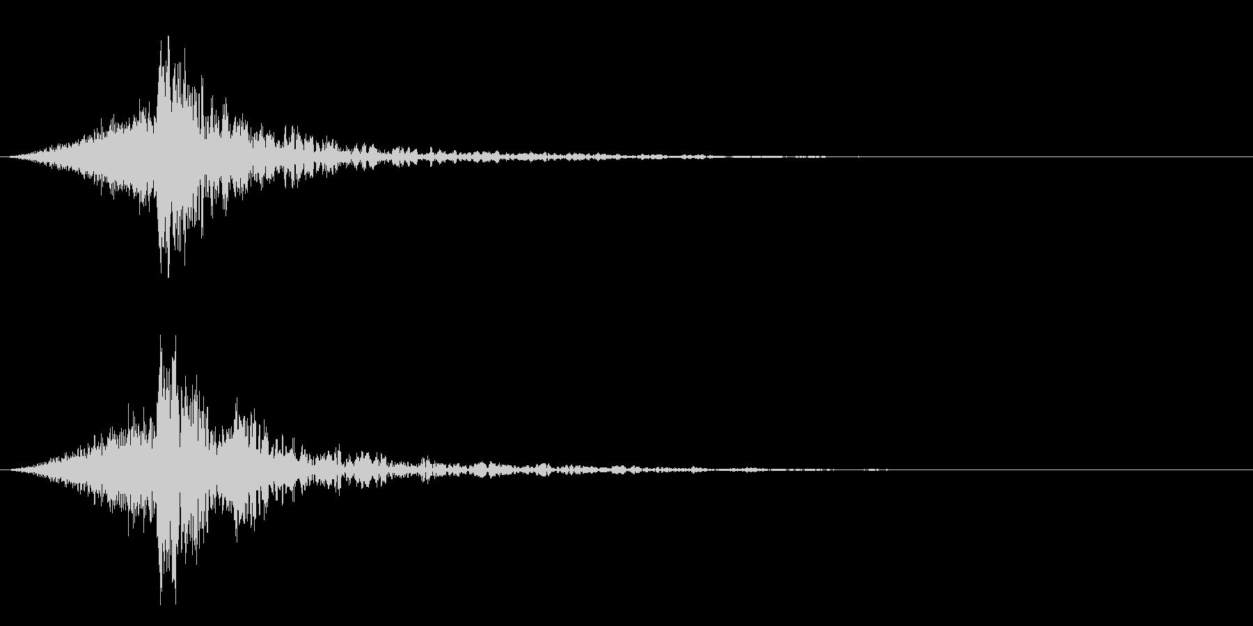 シュードーン-58-4(インパクト音)の未再生の波形