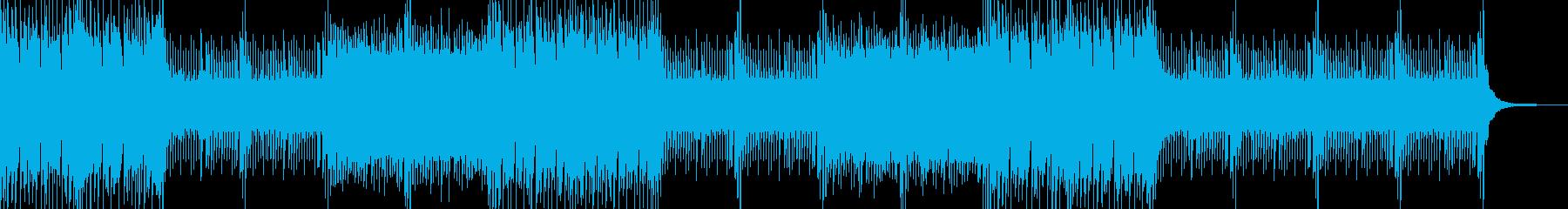 ダークでクールなEDMの再生済みの波形