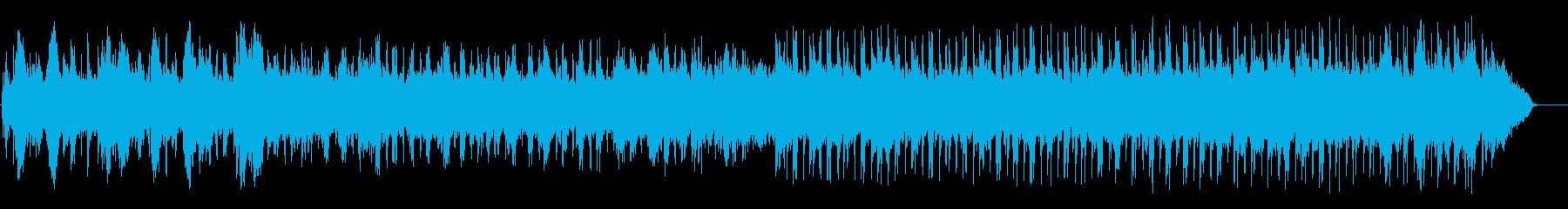 α波を誘うリラクゼーション系ポップスの再生済みの波形