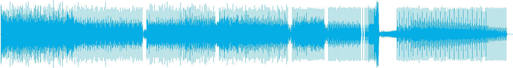 エレクトリックピアノ42の2つのパ...の再生済みの波形