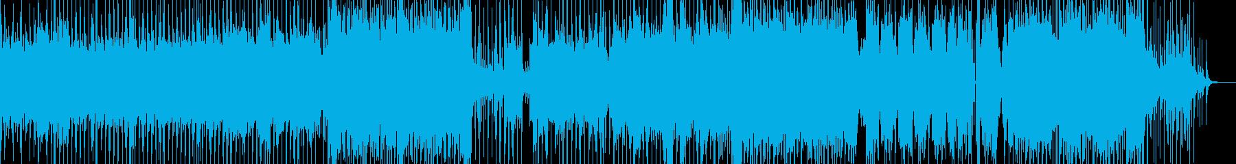 廃墟の都会・カオスなヒップホップ 長尺の再生済みの波形
