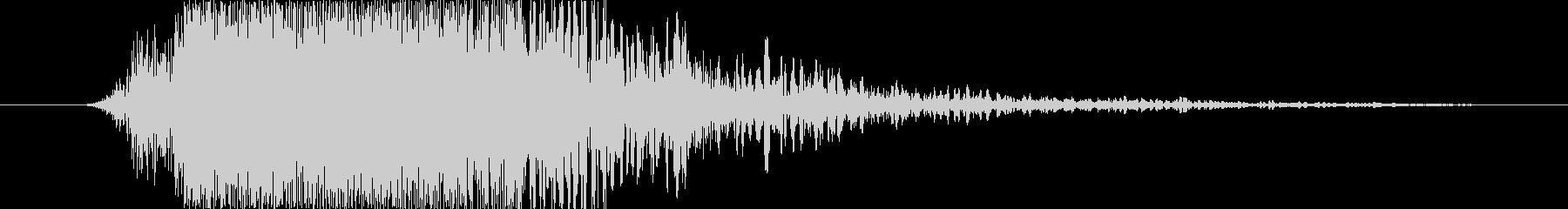 衝撃 ワム14の未再生の波形