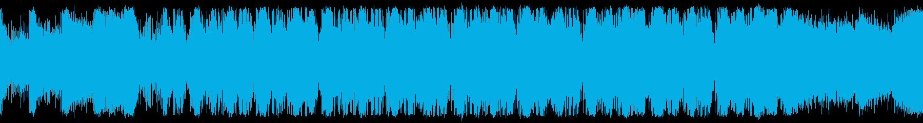 恐怖と脅威のホラーサバイバル ループ仕様の再生済みの波形