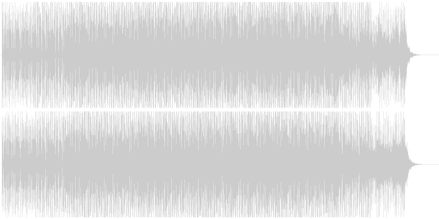 【CM・映像】おしゃれなエレクトロBGMの未再生の波形