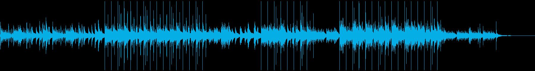ピアノ・感動的・エンディング・再会の再生済みの波形