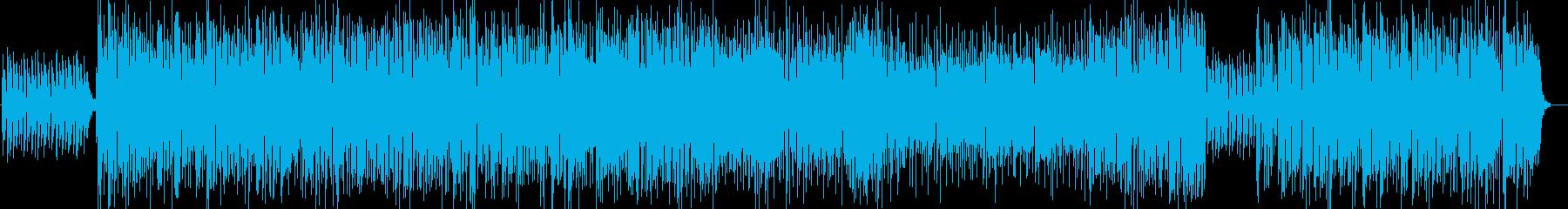 爽やかなBigBandジャズ ラテン系の再生済みの波形
