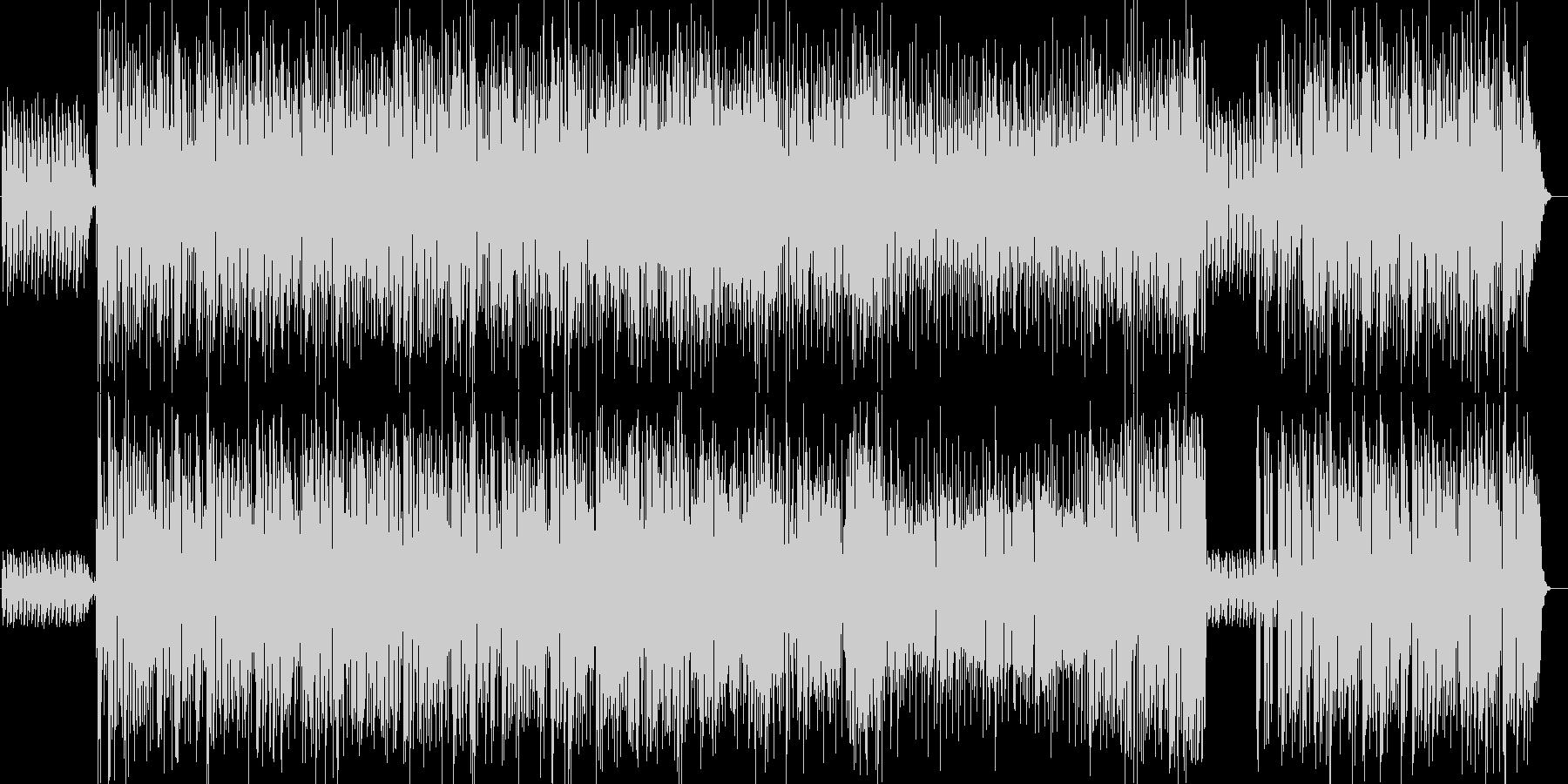 爽やかなラテン系ビッグバンドジャズの未再生の波形