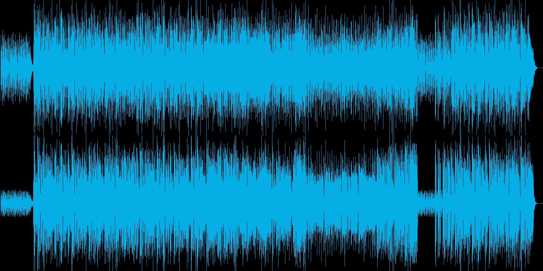 爽やかなラテン系ビッグバンドジャズの再生済みの波形
