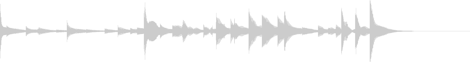 ベルチャイム:ハイメタル。の未再生の波形