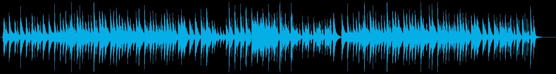 「ピーターと狼」ウクレレカバーの再生済みの波形