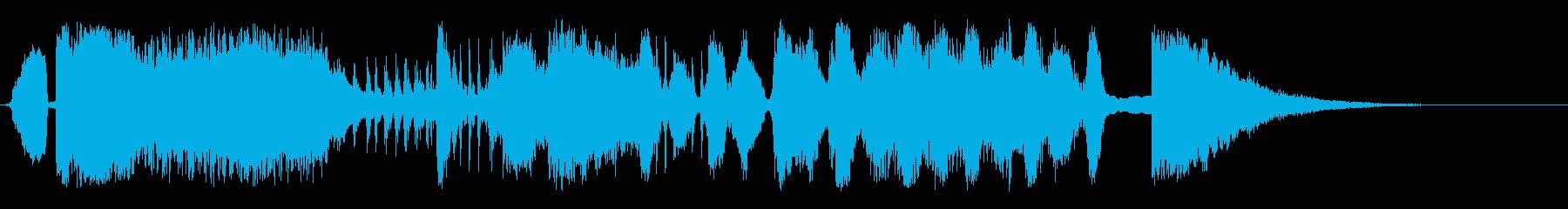 トゥーンクレイジーの再生済みの波形