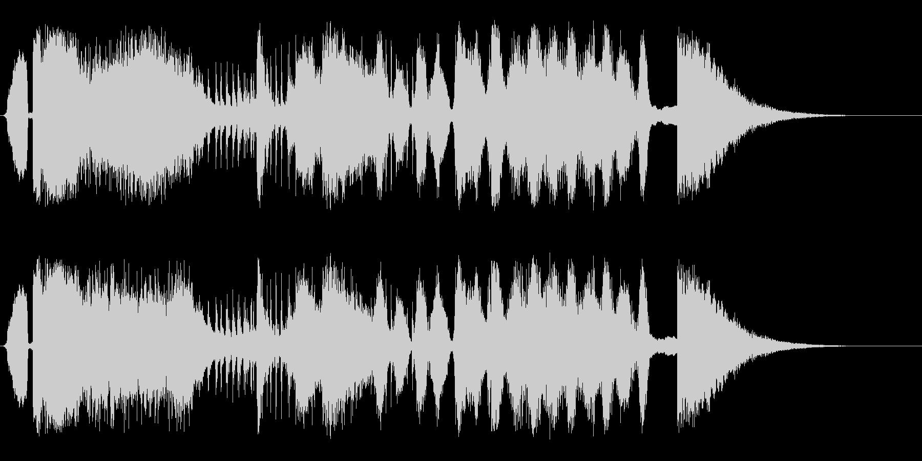トゥーンクレイジーの未再生の波形