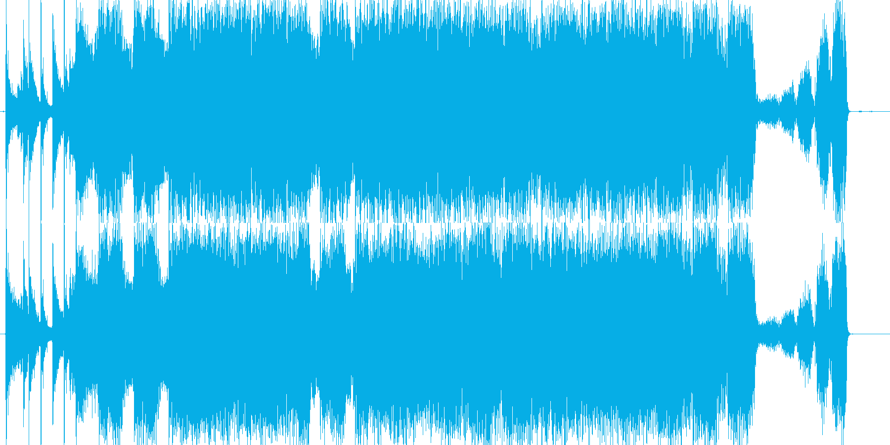 どこか懐かしいハードロックバンドサウンドの再生済みの波形