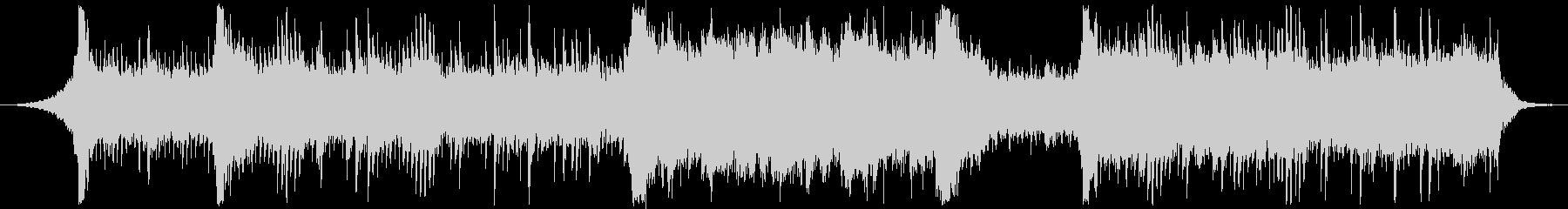 電子音楽×和風なヒーリング曲の未再生の波形