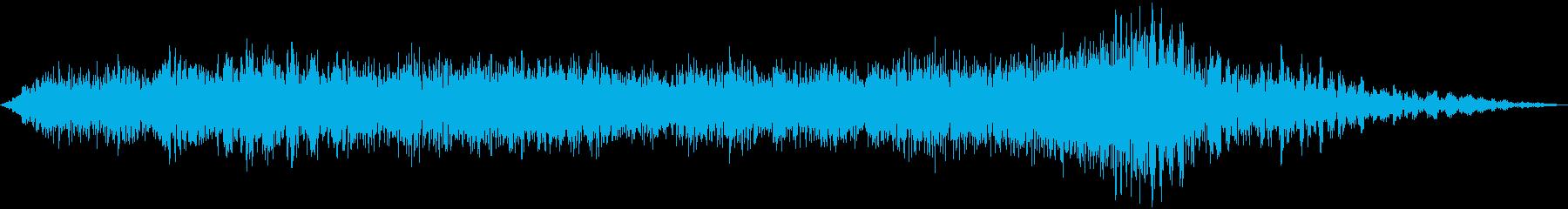 オープニングにもエンディングにも最適の再生済みの波形