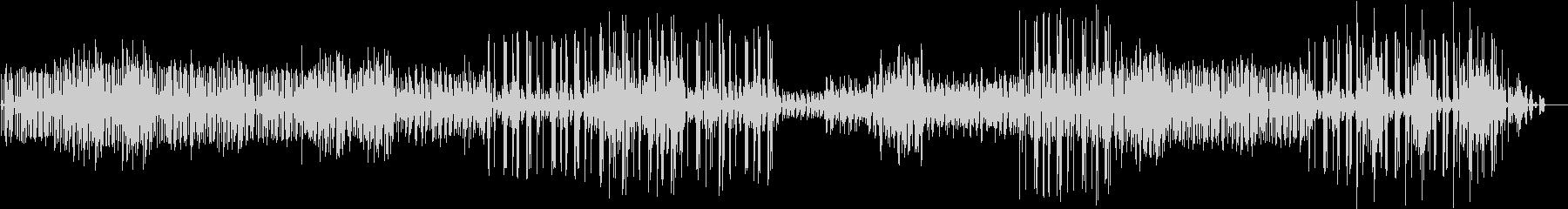 Synでのスローで幾何学的なトランス風Mの未再生の波形