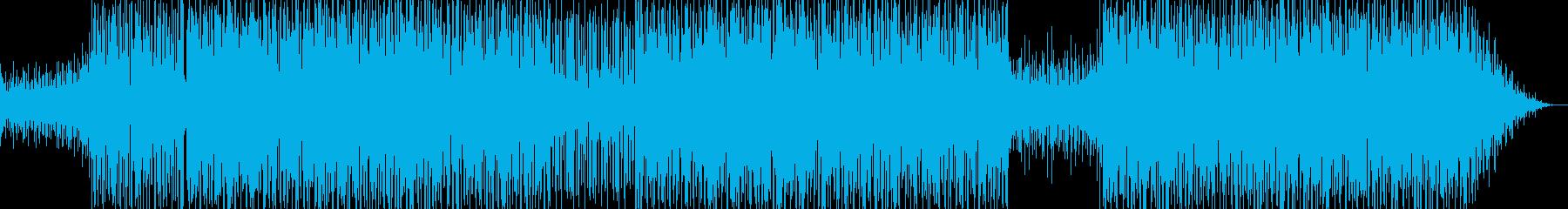 スムーズジャズ、クール、のんびり、...の再生済みの波形