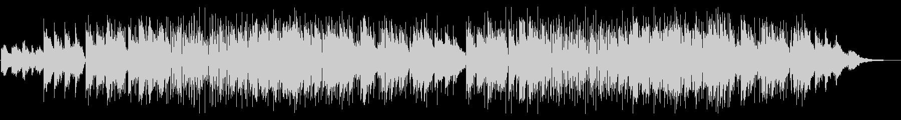 スムースジャズ・サックスの未再生の波形