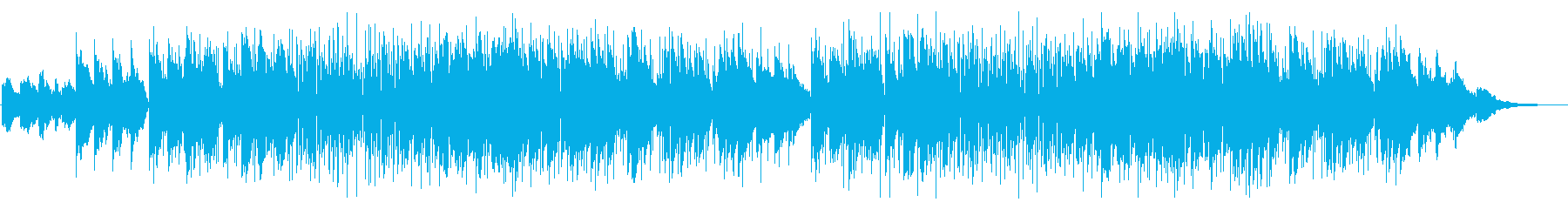 バブルな雰囲気のスムースジャズサックスの再生済みの波形