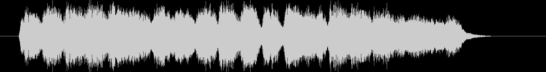 中世ヨーロッパ的なクラシックジングルの未再生の波形
