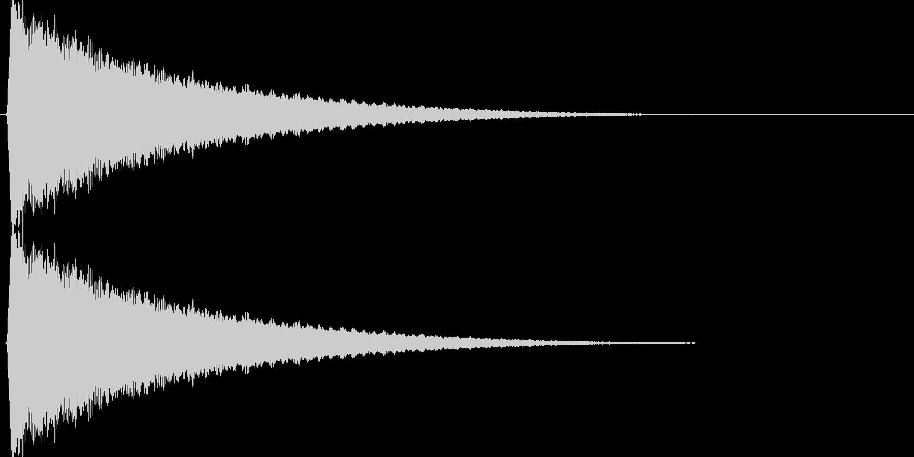 キュイィン↑(上昇、メーター、温度計)の未再生の波形