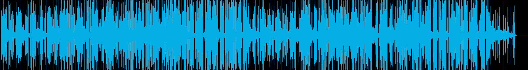 ネオシティポップなエレクトロダンスソウルの再生済みの波形