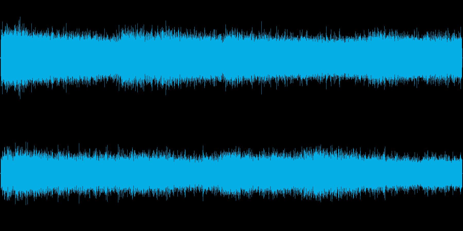 風の強い日を演出するのに調度いい効果音の再生済みの波形