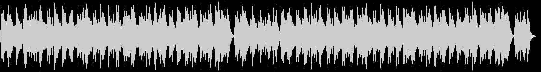 サンタルチア(オルゴール)の未再生の波形