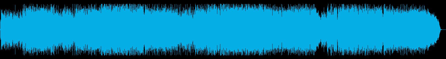 優しくも切ないロックバラードの再生済みの波形