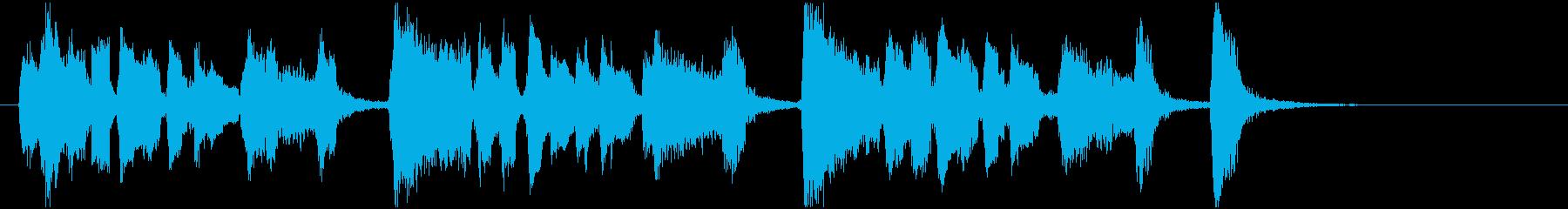 小粋なJazzジングル 8秒の再生済みの波形