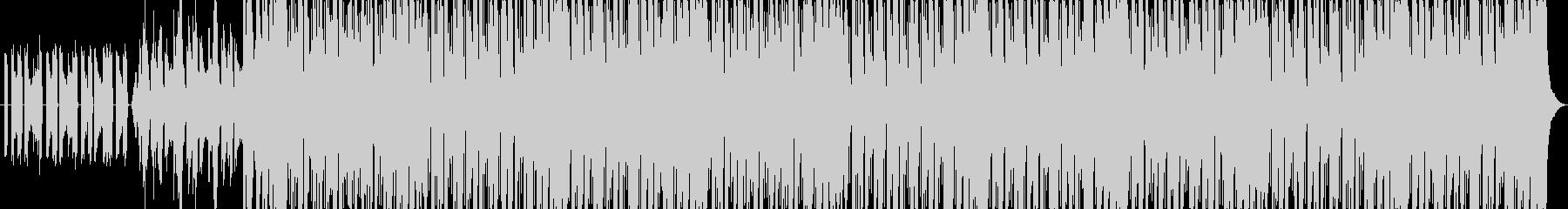 ミステリアスなファンタジーBGMの未再生の波形