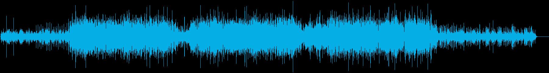 電子/ニューエイジ楽器。好奇心の強...の再生済みの波形