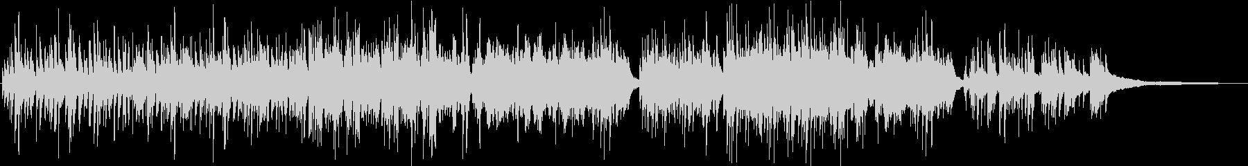 温かな旋律が感動的 生演奏のピアノ の未再生の波形