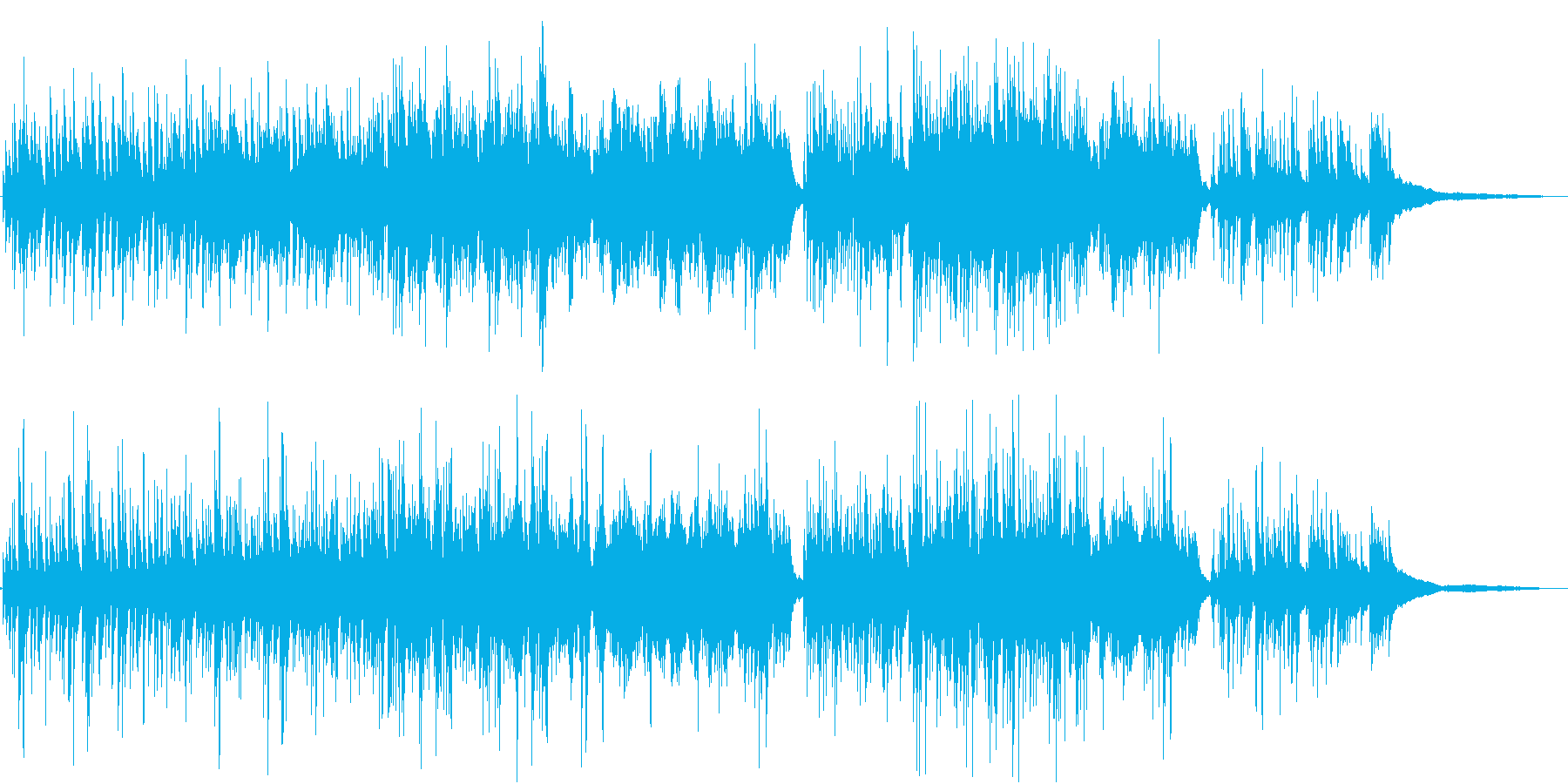 温かな旋律が感動的 生演奏のピアノ の再生済みの波形