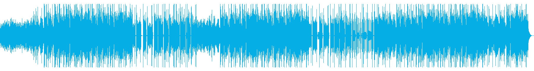 かっこいいニューソウル R&B 夕暮れの再生済みの波形