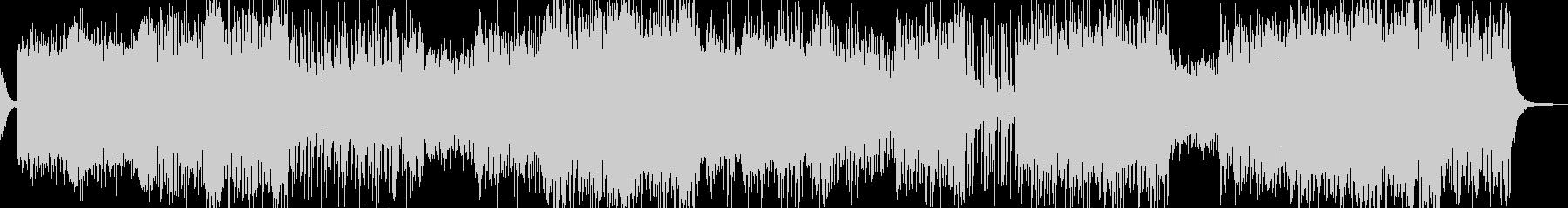 RPG・砂漠イメージのフィールドBGMの未再生の波形