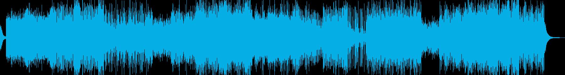RPG・砂漠イメージのフィールドBGMの再生済みの波形